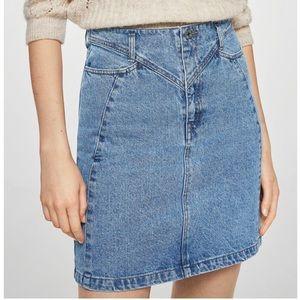 Mango Skirts - NEW Mini jeans skirt Mango